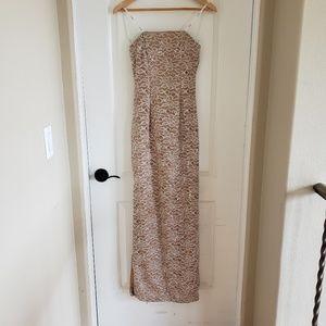 B. Darlin Junior's Size 3/4 Sequin Formal Dress